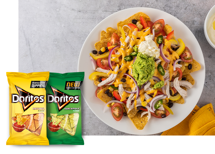 DORITOS® MEXICAN NACHO'S MIX WITH BEANS AND PEPPERS